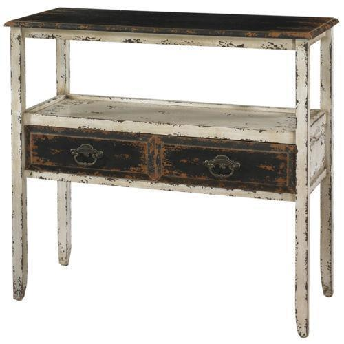 Distressed Foyer Console Table : Distressed console table ebay