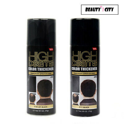 High Beams Color Thickener Temporary Spray-On Hair 2.7 oz (Choose from 2 - Temporary Spray Hair Color
