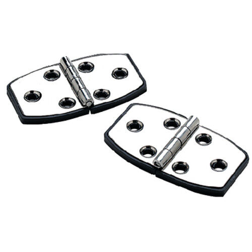 2 Pack of 3 x 1-1//2 Inch 316 Stainless Steel Door or Utility Hinges for Boats