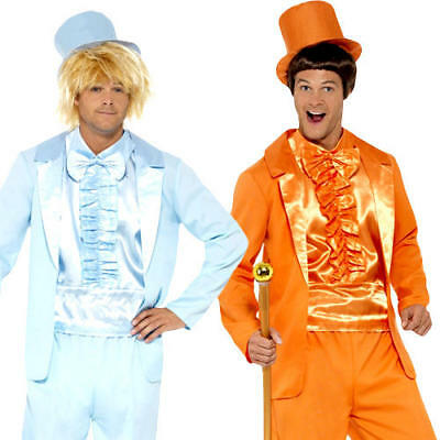 Dumb & Dumber Suits Mens Fancy Dress Novelty 90s Film Movie Adult Costume Tuxedo (Dumb And Dumber Suit)