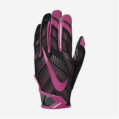 NEW Nike Vapor Knit Breast Cancer Awareness Magnigrip Football Gloves Size XL - Breast Cancer Football