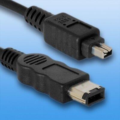 DV Kabel für Sony HDR-FX1E | Firewire 4/6-polig i.link | Länge 1,8m