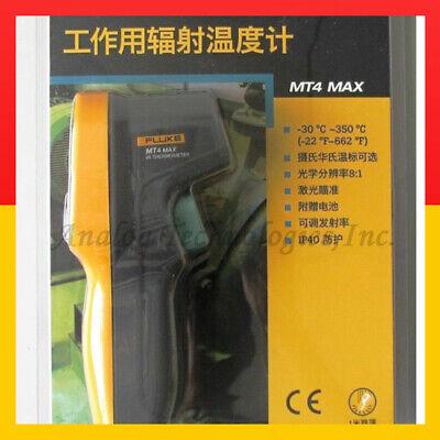 Fluke Mt4 Max Electronics Inc Mini Temp Thermometer -30-350c Replace 59 Max