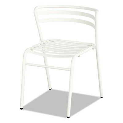 Safco Cogo Steel Outdoorindoor Stack Chair - 4360wh