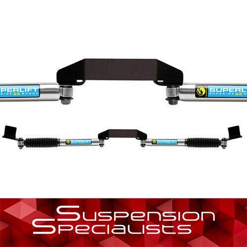 Superlift Bilstein Dual Steering Stabilizer Kit For 2009-2013 Dodge Ram 2500 4wd