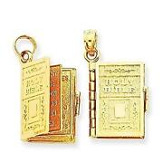 14k Gold Charms Moveable