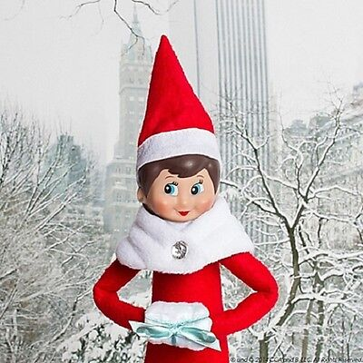 The Elf on the Shelf Couture: Claus Couture Capelet Set for Girl Elf- NIP](Elf On The Shelf Girls)