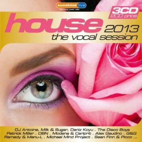 House: Vocal Session 2013 [new Cd] Germany - Import