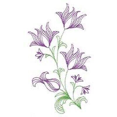 OESD Embroidery Machine Designs CD FLOWERING FILIGREE