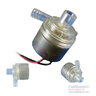 Mini DC 12V Food Grade 100C Water Pump 29GPH. Ideal for sous vide