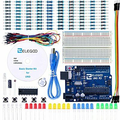 ELEGOO UNO Project Basic Starter Kit with Tutorial and UNO R3 Compatible with