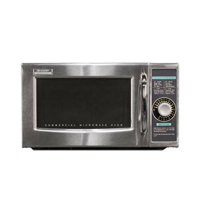 Sharp R-21LCFS 1000 Watt Microwave Oven with 1.0 Cu. Ft.