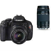 CANON T3i REBEL $555.55 - perfect condition [barely used]