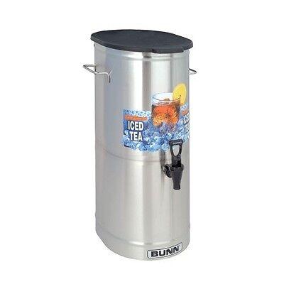 (BUNN TDO-4 Commercial Iced Tea Dispenser w/Solid Lid, Oval)