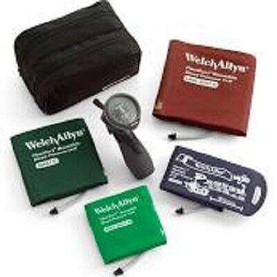 Welch Allyn Trigger Aneroid Blood Pressure 5098-30 W4 Cuff Kit Ds66 New