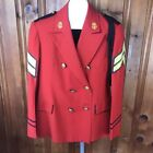 Unbranded Red Military Coats & Jackets for Men