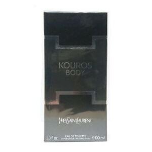 Yves Saint Laurent Body Kouros 100ml EDT Spray Retail Boxed Sealed