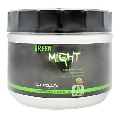 Controlled Labs GREEN MIGHT Creatine Endurance Muscle Volumizer 2 FLAVORS - - Muscle Volumizer