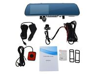 1080 HD rear view car mirror recorder