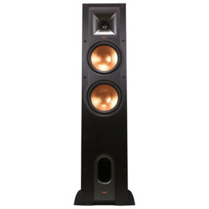 Klipsch R28F Tower Speaker PAIR - Brushed Black - NEW IN BOXES