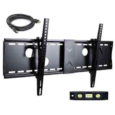 Wall Mount TV Tilt Wall Plate Bracket LCD LED Plasma Flat Screen Monitor 37 - 70