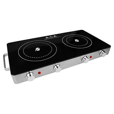 Brentwood Appliances Ts-382 Double Infrared Electric Countertop Burner (ts382)