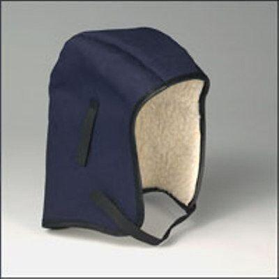 Sherpa Winter Liner (Winter Hard Hat Liner - Cotton Twill Shell Sherpa Liner Chin Strap ERB 19561 USA)