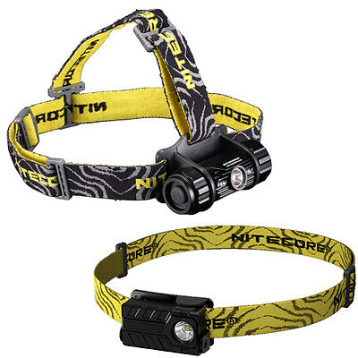 Bundle: Nitecore Headlamp HC50 2016 Model -760Lm +NU20 Recha