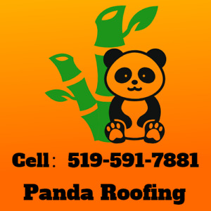 Panda Roofing-Free Estimate-15 Years Warranty-Call 519-591-7881