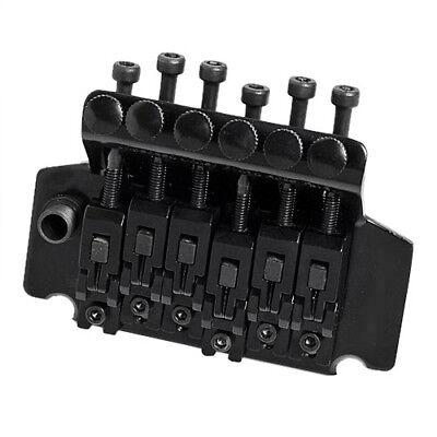 Negro Doble Trémolo Sistema Puente Recambio Estilo Guitarra Eléctrica Partes