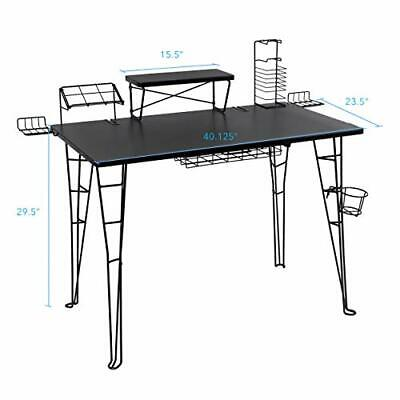 Gaming Computer Desk Ergonomic Steel Kids Bedroom Furniture