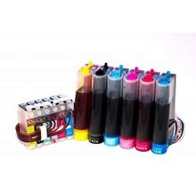Refillable CISS CIS Continuous Ink System non oem replacement Epson T801-T806 - Ciss Cis System
