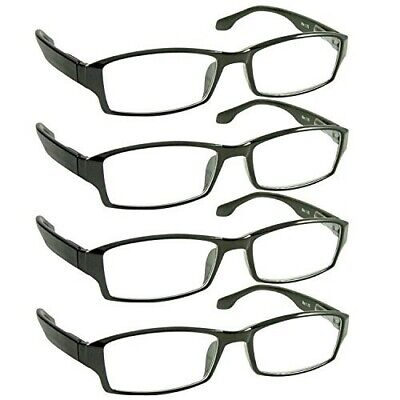 Reading Glasses _ Best 4 Pack for Men and Women _ Have a Stylish Look and
