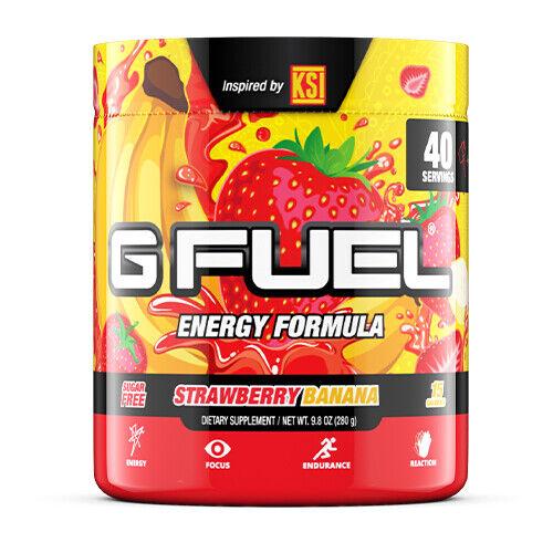 Gamma Labs G Fuel Strawberry Banana GFuel 40 Servings