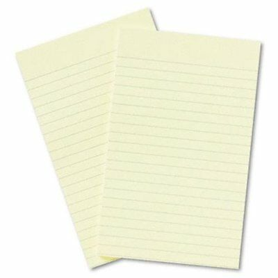 Post-it Ruled Adhesive Note - Repositionable Removable Self-adhesive Tab - 5
