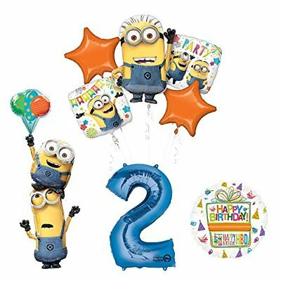 Despicable Me 3 Minions Stacker 2nd Birthday Party Supplies   ()