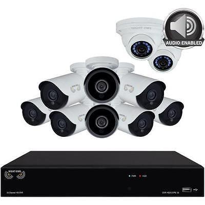 Night Owl Hda10p 10Bu 168 2Dma 2 10 Camera 16 Channel 2Mp  1080P  Dvr Video Secu