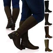 Ladies Boots Size 9 Wide Fit