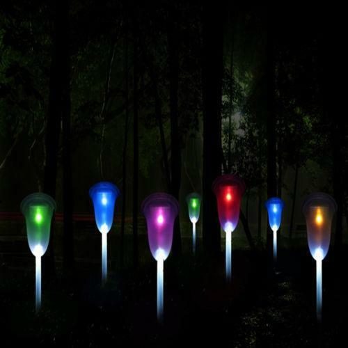 outdoor solar lights color changing ebay