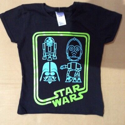 Children's STAR WARS T-shirt's. BNWT. Good quality. Age ranges 3 to 13