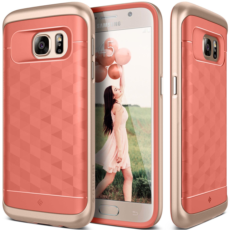 Samsung Galaxy S7 Caseology® [PARALLAX] Shockproof TPU Slim Bumper Case Cover