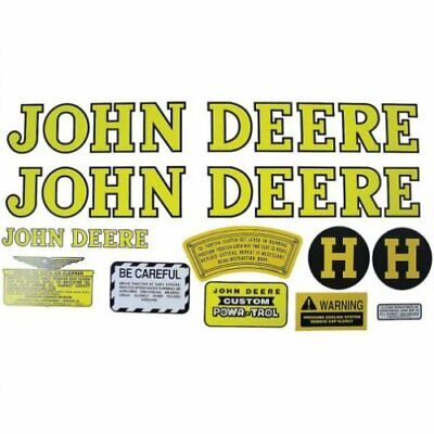 Decal Set John Deere H