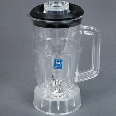 Waring CAC21 48 oz. Copolyester Jar with Lid and Blade