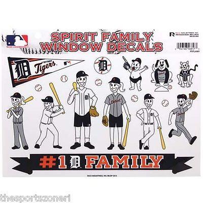 Detroit Tigers Family Spirit Window Decals Detroit Tigers Family Decal