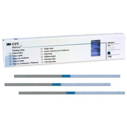 New 3m Espe Soflex Polishing Strips - 120 Strips Box !!
