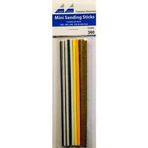 Albion Alloys 15 Mini Assorted Sanding Sticks 360