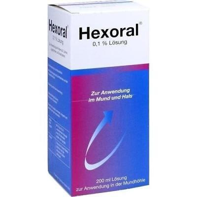 HEXORAL 0,1% Lösung 200 ml PZN 12494697