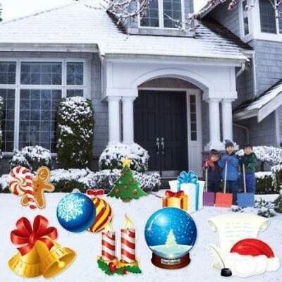 Christmas Snow Globes Yard Signs & Decorations - FREE SHIPPI