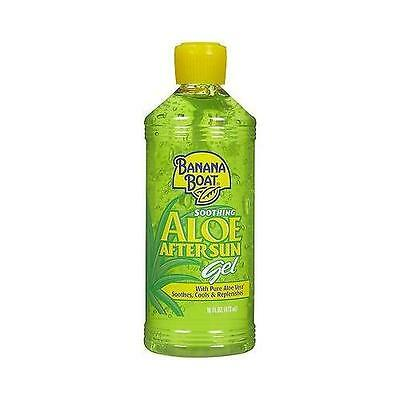 NEW Banana Boat Soothing ALOE After Sun Gel with Pure Aloe Vera-16 OZ  ()