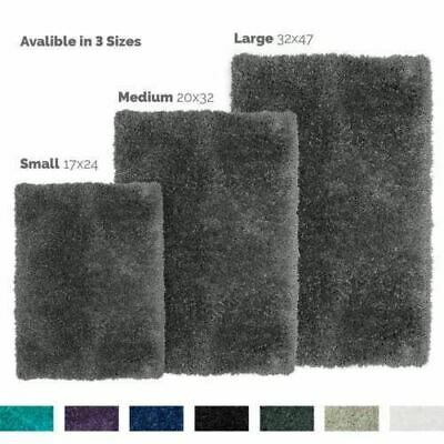 Shaggy Area Rug with Non-Slip Backing Rubber - Super Soft Cozy Bathroom Bath Mat